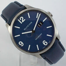 Glycine Swiss Incursore Big Date Men's Watch Automatic 3885.18