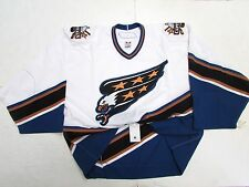 WASHINGTON CAPITALS SCREAMING EAGLE TEAM ISSUED REEBOK 6100 JERSEY GOALIE CUT 58