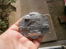 Vintage Harley Davidson Belt Buckle - Eagle  Siskiyou Buckle Co belt buckle