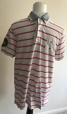 VINTAGE con Tommy Hilfiger NEW YORK CITY 1985 Polo Taglia Large Slim Fit