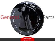 General Electric GE Stove  Range Knob Thermostate (black) AH225997 242686