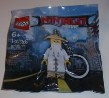 New Lego The Ninjago Movie Master Wu Key Chain Polybag 5004915