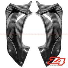 2006-2011 ZX14 ZX-14 ZZR1400 Upper Dash Air Duct Cover Panels Cowl Carbon Fiber