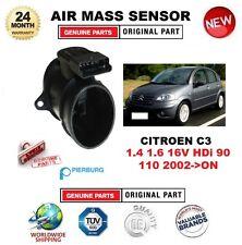 Para Citroen C3 1.4 1.6 16 V HDI 90 110 2002-en el sensor de masa de aire Pierburg 5-PIN