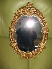 Beautifull gold coloured wall mirror