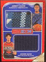 🎄 2019-20 NBA Hoops Holiday Jarrett Culver Jaxson Hayes Christmas Sweater SD-JJ