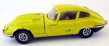 Corgi Toys Jaguar E-Type V12 1973 C 374 C374 gelb metallic Whizzwheels