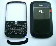 Black Housing cover faceplate case fascia facia for BlackBerry Bold 9900 9930