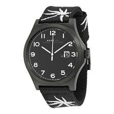 Marc By Marc Jacobs Jimmy Black Dial Black Nylon Mens Watch MBM5088