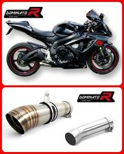 DOMINATOR Exhaust GP2 SUZUKI GSXR 600 750 K6 K7 + DB KILLER