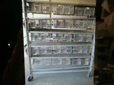 Lab Products Double Sided 30 Cage Rodent Rack 72 X 28 X 68 High Holds 60