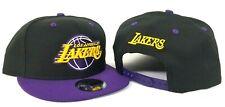 New Era Los Angeles Lakers Snapback Hat Team color Black - Purple