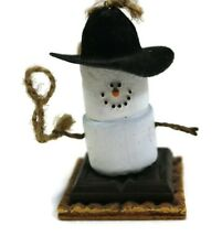 S'MORES BY MIDWEST Cowboy Rodeo Hat Lasso Rope Christmas Ornament