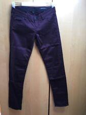 Guess Beverly Skinny Dark Purple, Slim Fit Skinny Jeans Trousers Size uk 29,