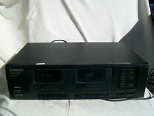 Pionner Stereo Double cassette deck
