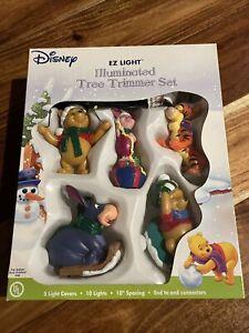 Disney Winnie The Pooh Illuminated Tree Trimmer Vintage Christmas Lights