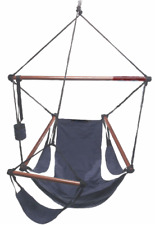 Cloud Nine 600 denier nylon and hard wood hanging air chair rated for 350lb