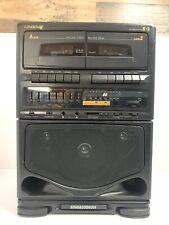 Vintage Singalodeon Portable Stero Karaoke Model Sk-104 Double Cassette Players