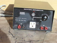 Educational Instruments Inc. 403520 Power Supply