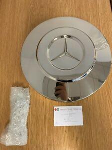 Original Mercedes Benz rear axle cap e chrome Axor AP-axle / B67520601