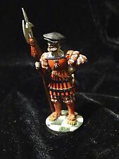 Halberdier Yeomen of the guard 1520s pewter soldier hand painted