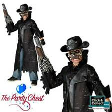 BOYS TOMBSTONE COWBOY ZOMBIE COSTUME Kids Halloween Fancy Dress Outfit 83234