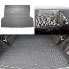 Gray Trunk Cargo Liner Mat All Weather Protection for Car SUV Van W. Dash Mat