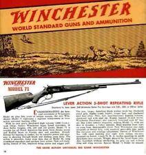 Winchester 1939 Guns and Ammunition Catalog