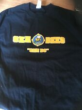 Seabees Can Do Navy T shirt Size L