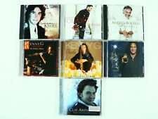 Christmas CD Lot 7 Xmas - Josh Groban Andrea Bocelli Buble Kenny G Clay Aiken