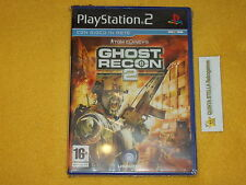 TOM CLANCY'S GHOST RECON 2  PS2 SONY PLAYSTATION 2 PAL VERS. ITALIANA NUOVO SIG.