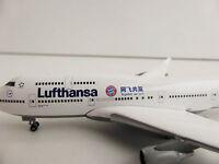 LUFTHANSA Boeing 747-400 FC BAYERN München China Tour 1/500 Herpa 528306 747