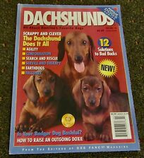 DACHSHUNDS  ALL ABOUT AMERICA'S FAVORITE DOGS  (POPULAR DOG SERIES) VOLUME 10