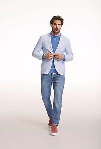 Gant Mens Casual Blue Oxford Shirt Blazer Jacket Small & Medium BNWT RRP £250