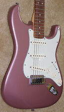 Fender American Deluxe Stratocaster Electric Guitar*2013*Mint*OHSC*Burgundy Mist