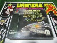 rebel assault 2 star wars  Sony PlayStation 1 PSX PS1 pal uk Retro Video Game