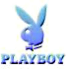 20 water slide DIY manicure decals  light blue play boy bunny trending 3/8