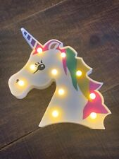 Unicorn Decoration Lights up Room Decoration Stand Alone or Hang