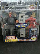 Marvel Legends: Kingpin/Daredevil Face-Off Action Figure Variants (2006) Toy Biz