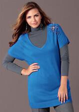 Verzierter MIM-Pullover M.I.M. Blue. Gr. 48/50. NEU!!! KP 49,99 SALE%%%