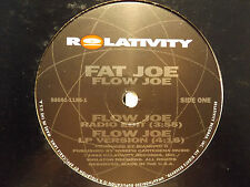 "FAT JOE - FLOW JOE / LIVIN' FAT (12"") 1993!!  RARE!!  DIAMOND D + LORD FINESSE!!"