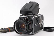 Hasselblad 503 CXi wt Planar CF 80 2.8 T* & PM Finder F/S JAPAN #0695 NEAR MINT!