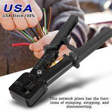 Rj45 Crimper Tool 6P/8P Network Pliers Multifunction Cutter Crimping Pliers