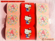 ❤️ Vintage RARE SANRIO 1976 MY MELODY HELLO KITTY 9 MINI Adesivi Stickers NEW!!