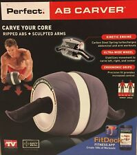 Perfect Fitness Ab-Carver Lightweight Ultra-Wide Wheel Portable Gym Exercise New