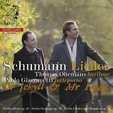 Thomas Oliemans Paolo Giacometti - Schumann: Lieder (NEW CD)