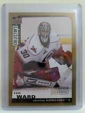 2008-09 Upper Deck Collector's Choice Prime Choice Reserve Gold #22 Cam Ward