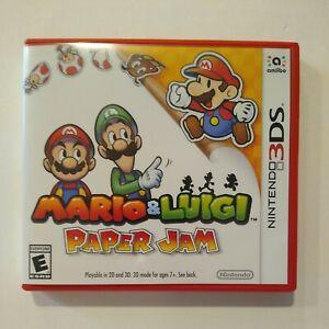 Mario & and Luigi: Paper Jam Bros. (Nintendo 3DS, 2016) world edition