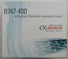 Boeing 747-400 Cathay Pacific Rhein-Main B-HUI CXcitement 1:500 in OVP [UK]