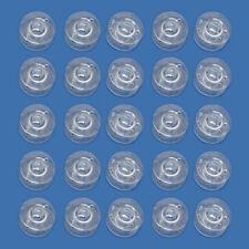 25 freie Plastik Naehmaschine Spulen Passend Singer Bruder Janome Toyota GY